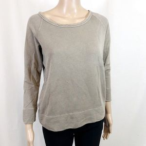 James Perse Pullover Crew Neck Sweater